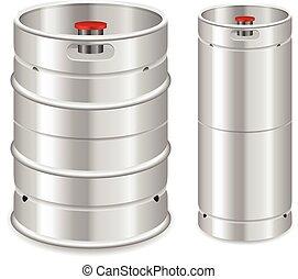 Beer keg set