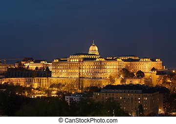 Castle of Buda - The Castle of Buda in Hungary