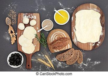 Rustic Bread Baking