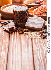 The Chocolate spa - Chocolate and coffee spa - sea salt,...