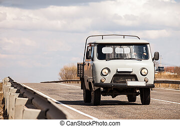 UAZ quot;Farmerquot; - UAZ Farmer on a road