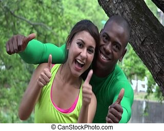 Confident People Fitness And Exercise