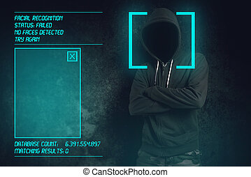 Facial recognition software failed at biometric verification...