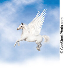 Pegasus - pegasus flying