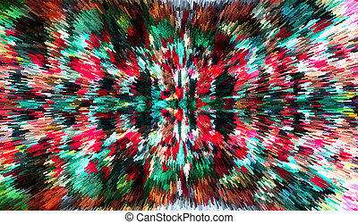 Digital art pattern background abstract