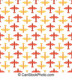 Seamless Air Travel And Tourism Pattern Background