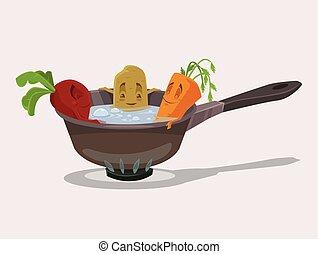 legumes, fervido