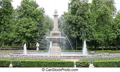 fountain Eger Hungary