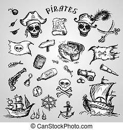 Pirates set.
