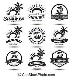 Summer emblem