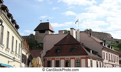 old town and fortress Eger Hungary