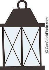 Street light vector illustration - Street light posts and...
