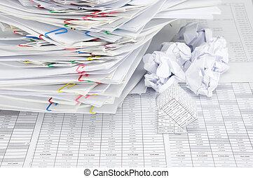 球, 房子, 混淆, 紙, 地方, 有, 迷離, 文件, 破產