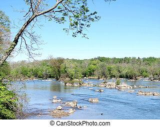 Potomac River 2016 - View of Potomac River near Washington...