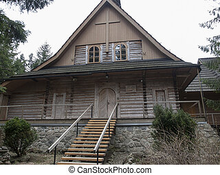 Zakopane,Poland - The hermitage of the Albertine Sisters