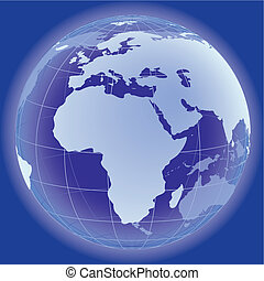Globe concept icon web internet