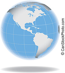 Globe concept icon web internet vector illustration