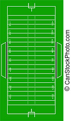 Scale Vector American Football Pitch - Scale Vector...