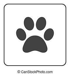 Pets paw icon 2