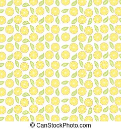 orange fruit pattern theme vector art illustration