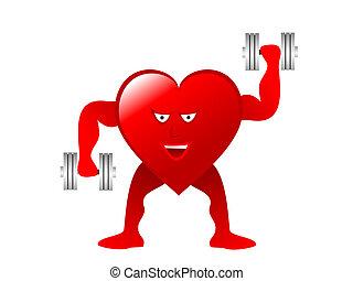 healthy heart illustration