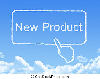 New Product message cloud shape
