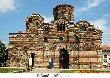 Church of Christ Pantocrator in old town of Nessebar,...