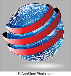 Arrow Wrap Globe