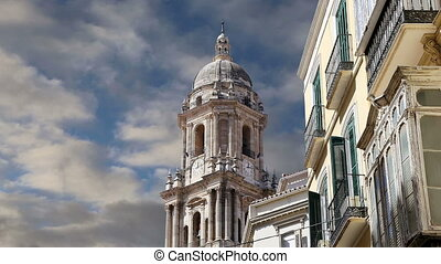 Cathedral of Malaga-- Spain - Cathedral of Malaga-- is a...