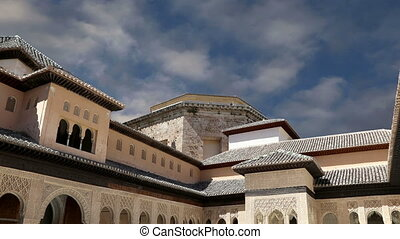 Alhambra Palace, Andalusia, Spain - Alhambra Palace -...