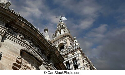 Cathedral of Seville Spain - Cathedral of Seville --...