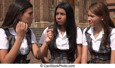 Confused People Teen Girls