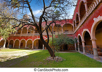 spanish arches in jaral de berrio hacienda - spanish arches...