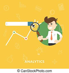 Analysis business results of concept research