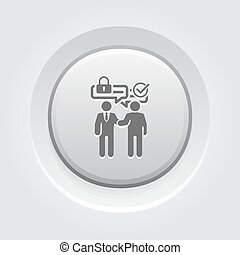 Secure Deal Icon
