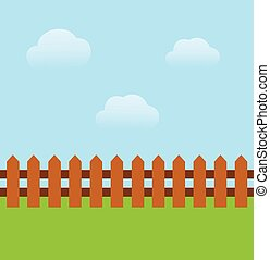 fence - vector fence