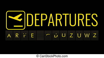 text flip of board of airport billboard with words name holiday time, travel, holiday and relax concept