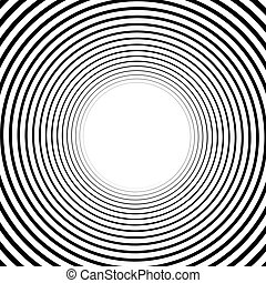 Abstract spiral element Twirl, swirl, whorl shape - Abstract...