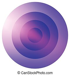 vidrioso, colorido, Irradiar, concéntrico,...