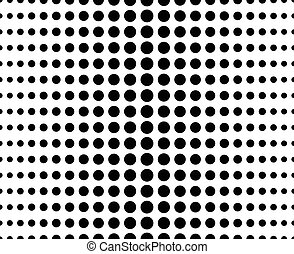 Abstract dotted pattern - Abstract dotted (half tone)...