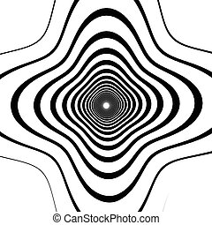 Abstract spirally background element Abstract monochrome...