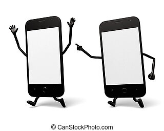 Cellphone - There are two cellphones