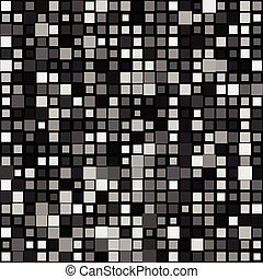 Random mosaic background w/ squares varying in size