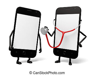 Cellphone - The virus is in the cellphone