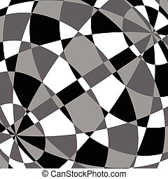 Abstract tessellating background Overlapping mosaic shapes...