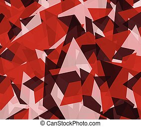 Abstract edgy, angular background, texture - Abstract edgy,...