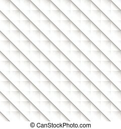 Abstract geometric 3d studded background. Mosaic of...