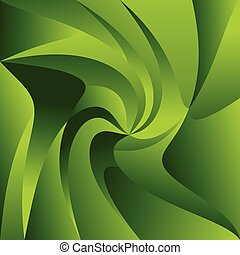 Swirly, spirally colorful background Triangular shapes with...