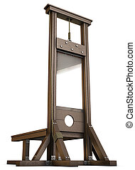 Guillotine - An Empty Guillotine rendered from the ground...
