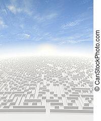 Maze to Infinity
